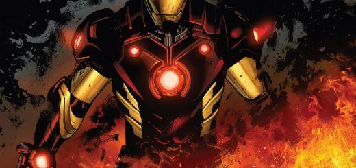 Iron Man Marvel DC Comics Artwork - Animated Live Wallpaper