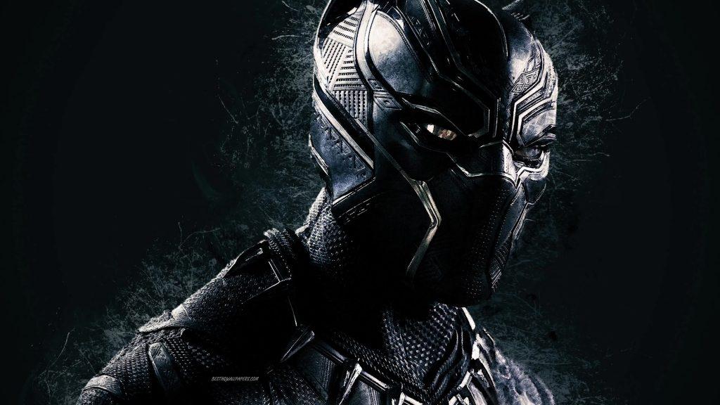 Black Panther 4K Superhero Splashes - Free Live Wallpaper ...