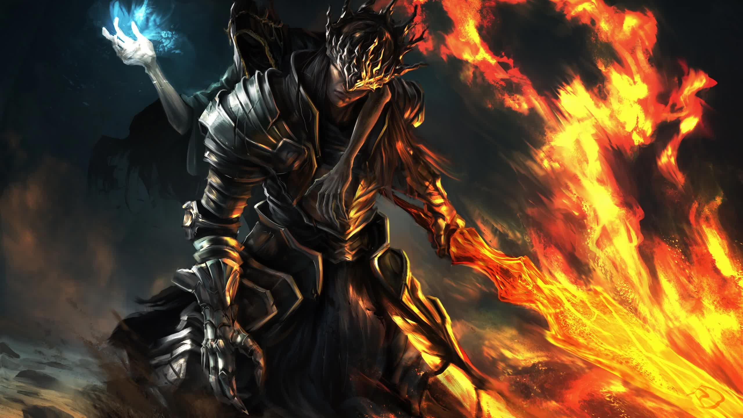 Dark Souls III Artwork 2K - Free Animated Wallpaper - Live ...