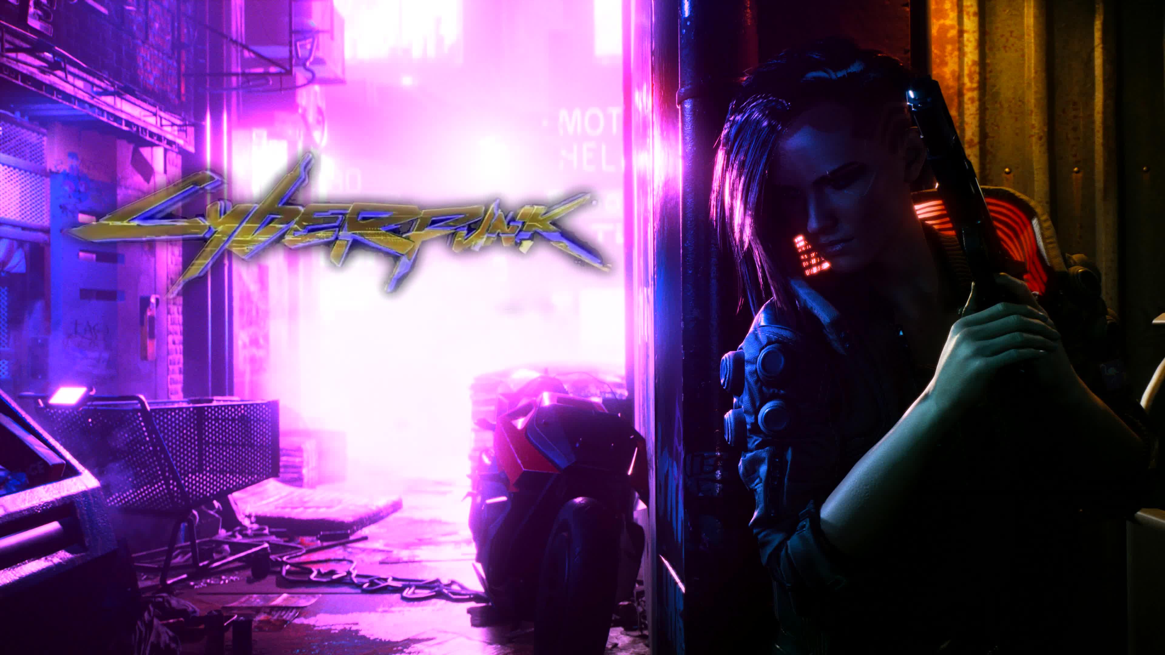 Cyberpunk 2077 Game Logo 4K Quality - Free Live Wallpaper ...