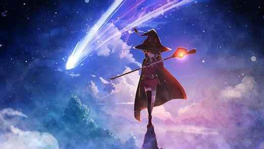Konosuba Megumin 4K Anime Desktop Background - Live ...
